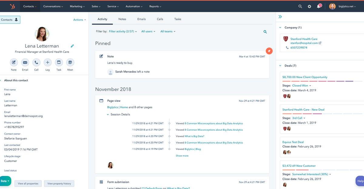 HubSpot interface.png