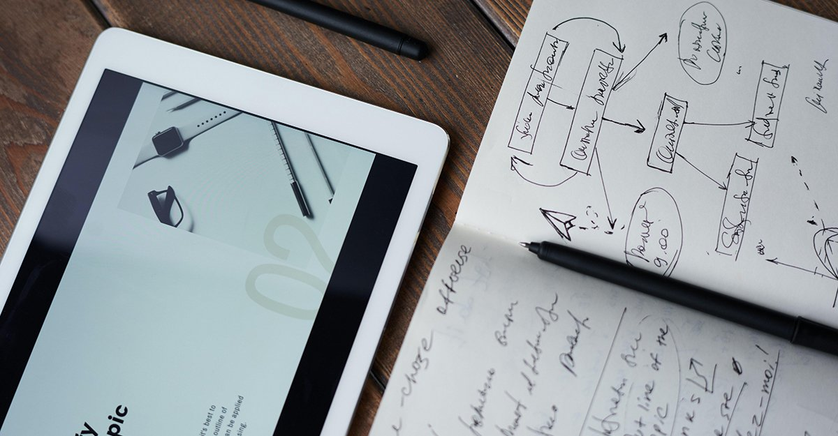 Photo of a tablet and a hand-written paper.jpg