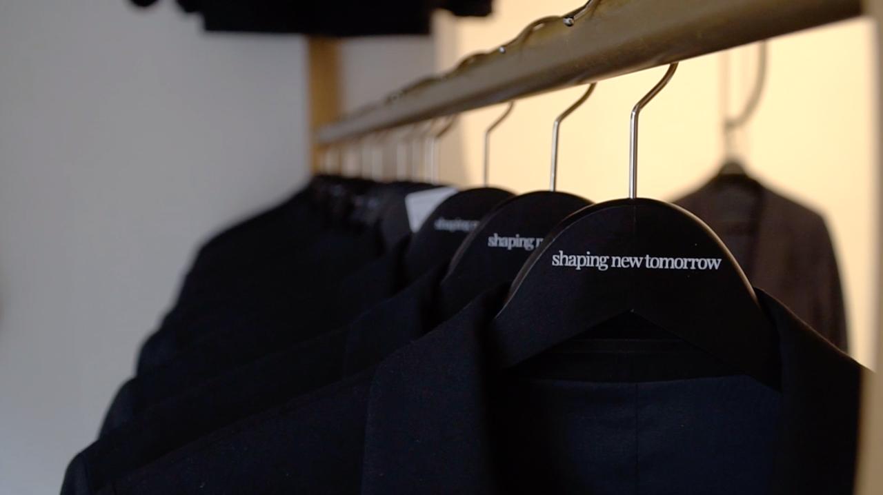 Plecto case study with Shaping New Tomorrow coats